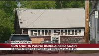 Gun shop in Parma burglarized again