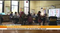 Schools nationwide struggle with teacher diversity