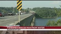 Local fishermen being called heroes following water rescue