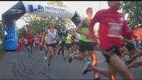 Off and running at the Rochester Marathon