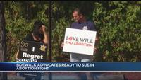 Sidewalk Advocates ready to sue in abortion fight