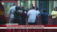 Syracuse Police looking for suspects in mass shooting
