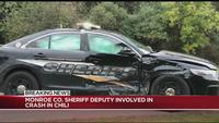 Deputy involved in crash while attempting traffic stop