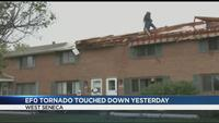 Tornado touches down in West Seneca on Saturday