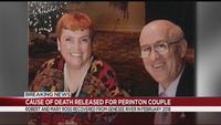 Cause of death released for missing Perinton couple