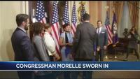 Congressman Morelle sworn in