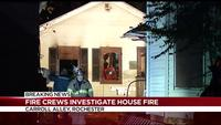 Fire crews investigate house fire in Rochester