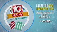 News10NBC Toys for Tots Holiday Drive: Help bring a smile to local children