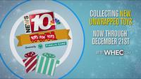 News10NBC's Toys for Tots Holiday Drive kicks off