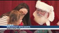 Breakfast with Santa a hit with kids and animals at the Seneca Park Zoo