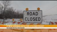 Good Question Update: We now know when Quaker Road in Macedon will reopen