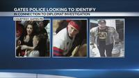 Gates Police looking to identify 3 people in connection to Diplomat investigation