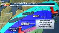 First Alert Weather: Major winter storm expected to hit area this weekend