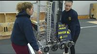 Gates warehouse becomes another world for FIRST robotics teams