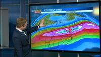Jet stream forces plane faster than speed of sound