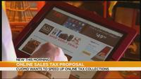 Cuomo looking to speed up online sales tax proposal