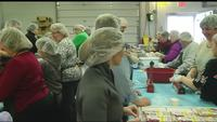 Thousands of meals prepped for food pantries