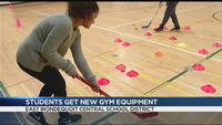 East Irondequoit students gifted new gym equipment