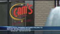 Founders of Cam's Pizzeria arrested on nearly 80 felony counts