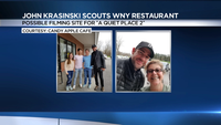 'A Quiet Place 2?' John Krasinski scouts WNY restaurant for possible filming site