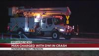 Pittsford man charged with DWI after crash