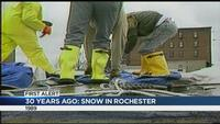 30 years ago, Rochester gets hit with record-breaking snow