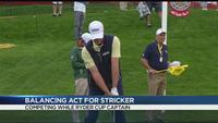 'A balancing act' for competitor Steve Stricker