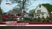 4 escape Rochester house fire