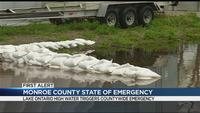Dinolfo issues state of emergency due to high water levels along Lake Ontario