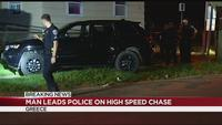 Police chase from Greece to Rochester ends in arrest
