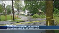 Severe thunderstorms sweeping through Rochester