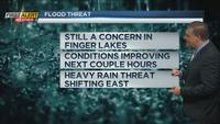 First Alert Weather Day: Heavy rain causing flooding in area