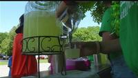 Lemonade and bake sale held to support flooding recovery