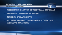 Here's your chance to become a high school football referee