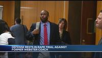 Closing arguments set to begin in rape trial of former Webster teacher, coach