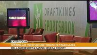 Let the gaming begin: Opening day for sports betting at del Lago