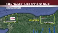 Wayne County woman finds dead body in her truck in Niagara County