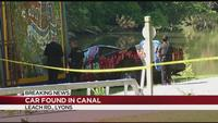 Abandoned truck found in Erie Canal in Lyons