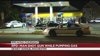 Rochester man arrested after allegedly firing shots while pumping gas