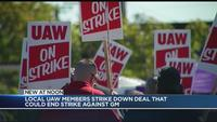 Local UAW members reject deal that could end GM strike