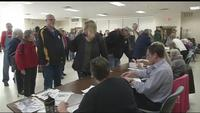Voter registration numbers show local townships may flip blue