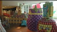Canstruction holds 12th annual building competition