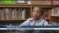Do the Right Thing Award winner: Second-grader calls 911 for mom's medical emergency
