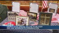 Local church holds special salute for veterans