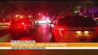 Man in serious condition after shooting on Grand Avenue
