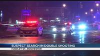 Police investigate double shooting on city's southwest side