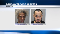 2 arrested in connection with rash of Ontario County drug overdoses