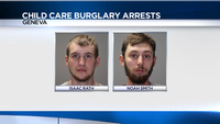 Two arrests in Geneva child care center burglary