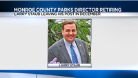 Monroe County Parks Director Larry Staub is retiring