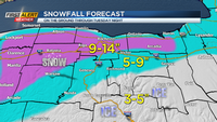 First Alert Weather Snapshot: Early season winter storm will deliver significant snow and cold
